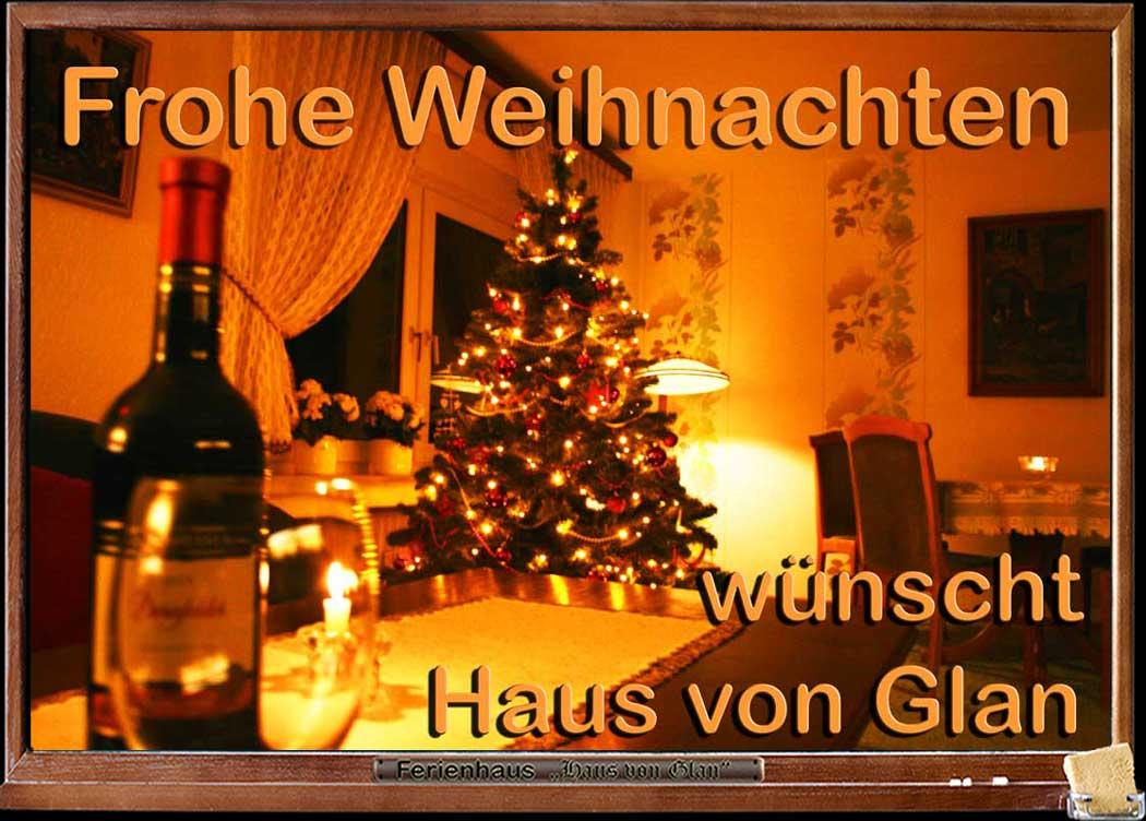 Weihnachtsbaum im Haus von Glan 2014